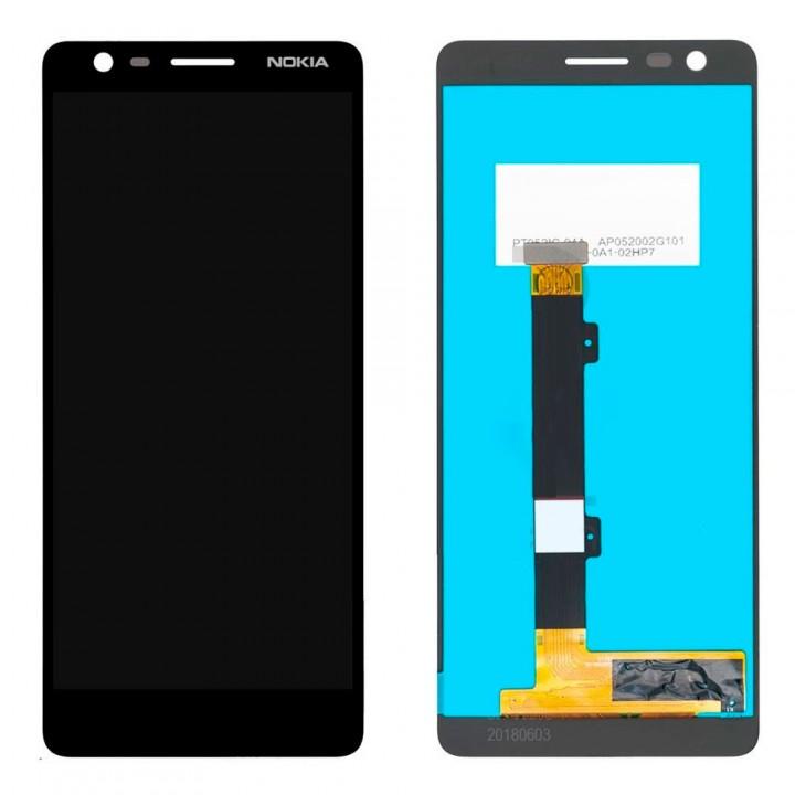 Дисплей Nokia 3.1 с тачскрином (Black) Original PRC