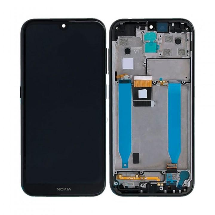 Дисплей Nokia 4.2 с тачскрином (Black) Original PRC в рамке