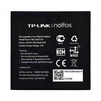 Аккумулятор TP-Link Neffos NBL-39A2130 для TP-Link Neffos Y5 TP802A (2130 mAh)