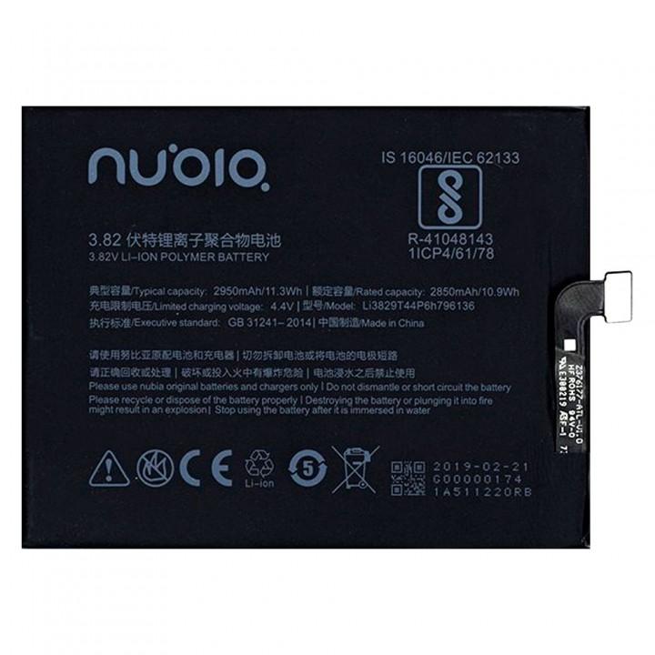 Аккумулятор ZTE Li3829T44P6h796136 для ZTE NX589J Nubia Z17 Mini (2850 mAh)