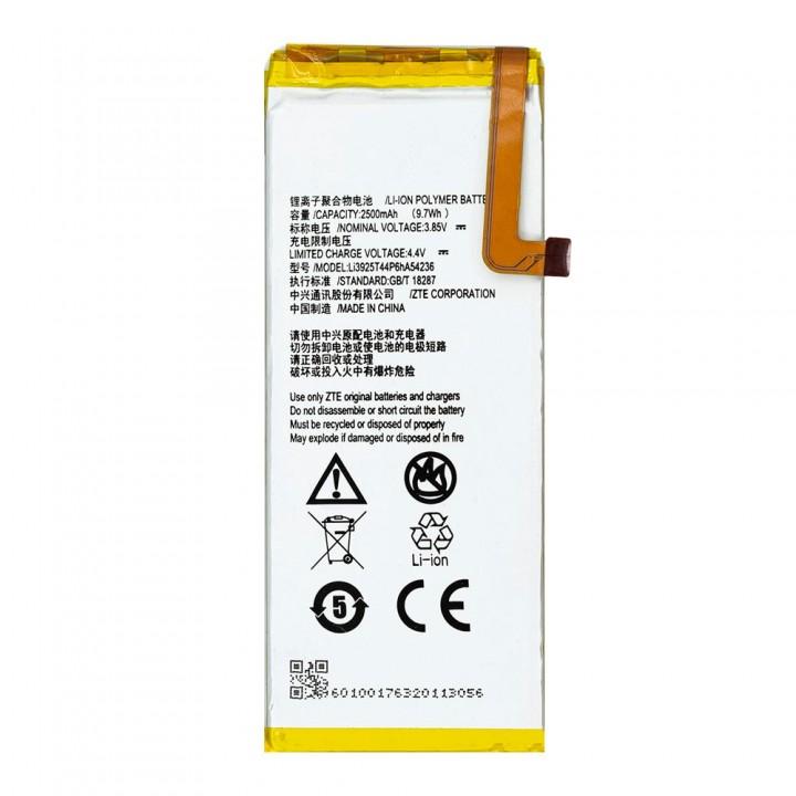 Аккумулятор ZTE Li3925T44P6HA54236 для ZTE Blade S7 T920 (2500 mAh)