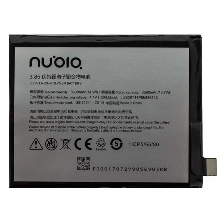 Аккумулятор ZTE Li3936T44P6h836542 для ZTE Nubia M2 (3630 mAh)