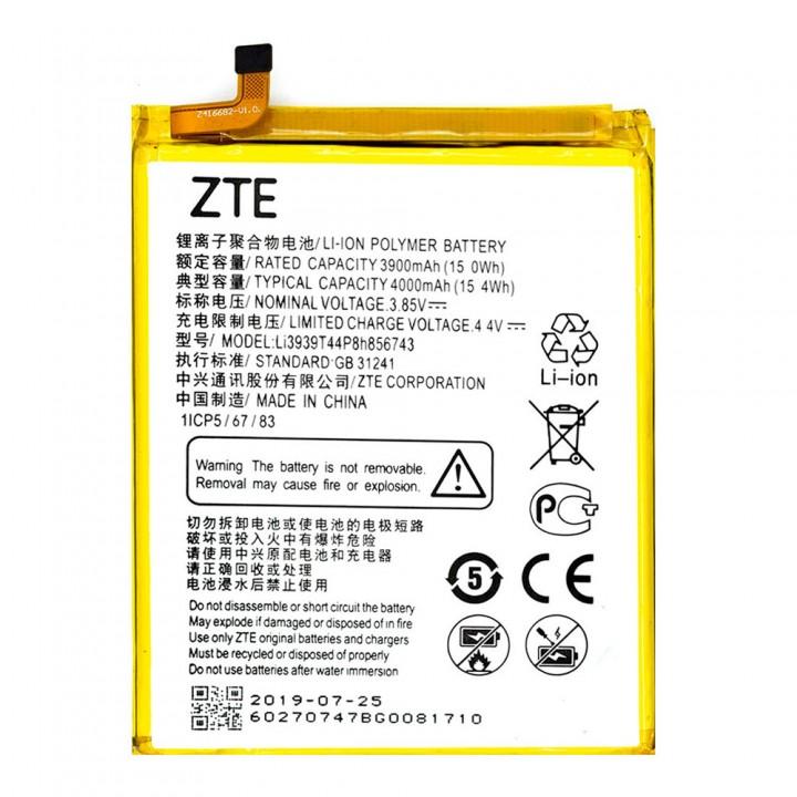 Аккумулятор ZTE Li3939T44P8H856743 для ZTE Blade A6 Max / A3 2017 (4000 mAh)