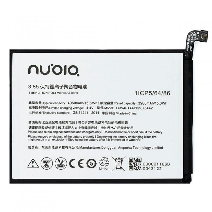 Аккумулятор ZTE Li3940T44P6h876442 для ZTE Nubia V18 (4060 mAh)