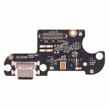Нижняя плата Xiaomi Mi 8 Lite с разъемом зарядки и микрофоном (High Copy)
