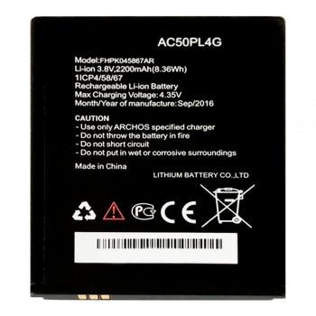 Аккумулятор Archos AC50PL4G / Intex BR22024BR для Archos 50 Platinum (2200 mAh)