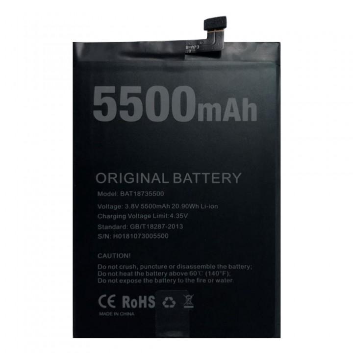 Аккумулятор Doogee BAT18735500 для Doogee BL5500 Lite (5500 mAh)