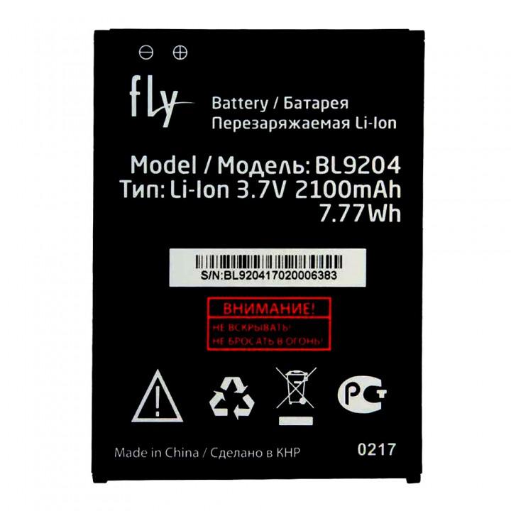 Аккумулятор Fly BL9204 для Fly FS517 Cirrus 11 / FS528 Memory Plus (2100 mAh)