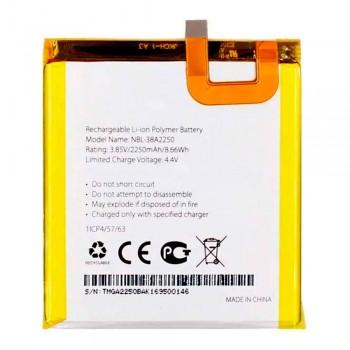 Аккумулятор TP-Link Neffos NBL-38A2250 для TP-Link Neffos X1 (2250 mAh)