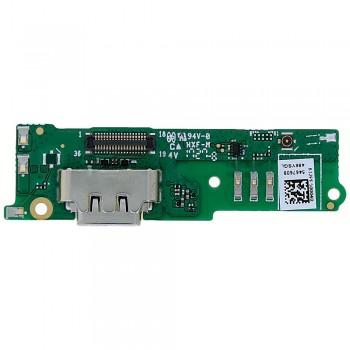 Нижняя плата Sony G3412 Xperia XA1 Plus с разъемом зарядки и микрофоном