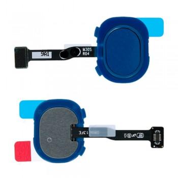 Сканер отпечатка пальца для Samsung M307 Galaxy M30s (Blue)