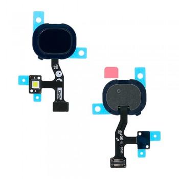 Сканер отпечатка пальца для Samsung M315 Galaxy M31 (Blue)