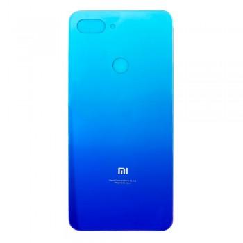 Задняя крышка для Xiaomi Mi 8 Lite (Aurora blue)