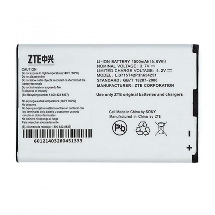 Аккумулятор ZTE Li3715T42P3H654251 для ZTE A6 (1500 mAh)