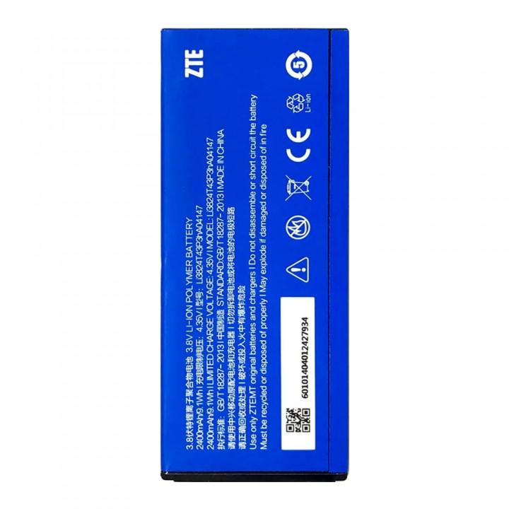 Аккумулятор ZTE Li3821T43P3HA04147 / Li3824T43P3HA04147 для ZTE V5 / Blade L3 Plus / V5s (2400 mAh)
