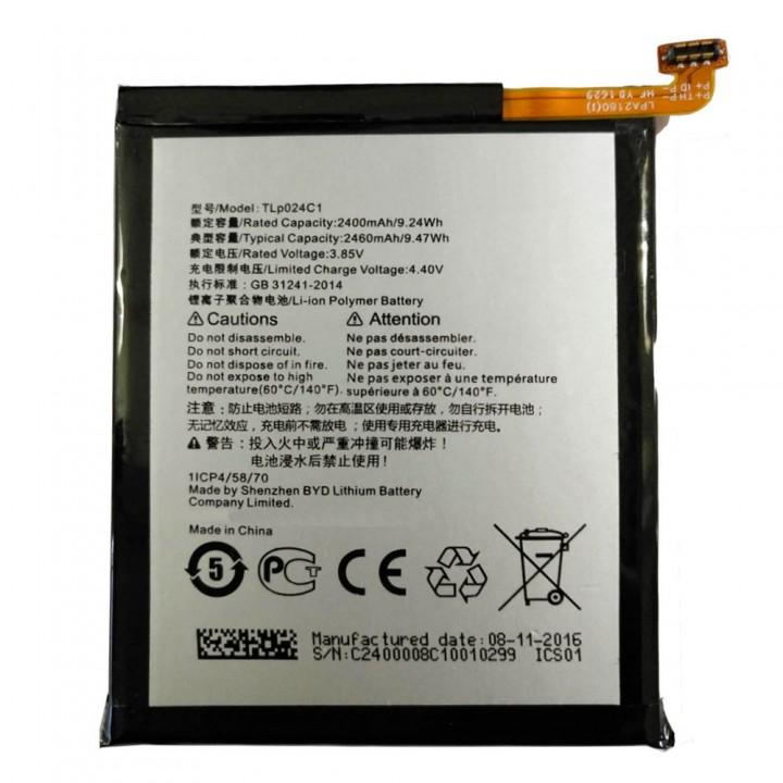 Аккумулятор Alcatel TLp024C1 / TLP024CJ / TLP024CC (2400 mAh)