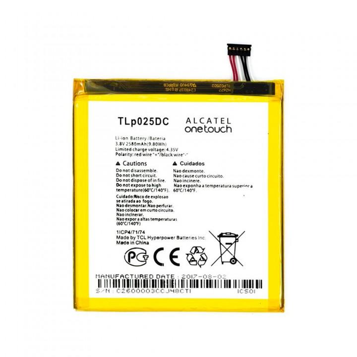 Аккумулятор Alcatel TLp025DC (2580 mAh)