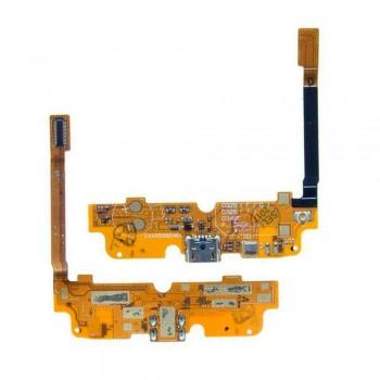Нижняя плата LG D285 Optimus L65 Dual Sim с разъемом зарядки и микрофоном