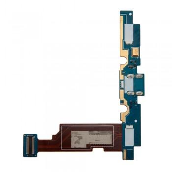 Нижняя плата LG E975 Optimus G с разъемом зарядки и микрофоном