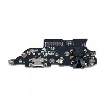 Нижняя плата Meizu M6 Note с разъемом зарядки и микрофоном (High Copy)