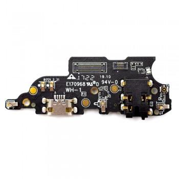 Нижняя плата Meizu M6 Note с разъемом зарядки и микрофоном (Original)