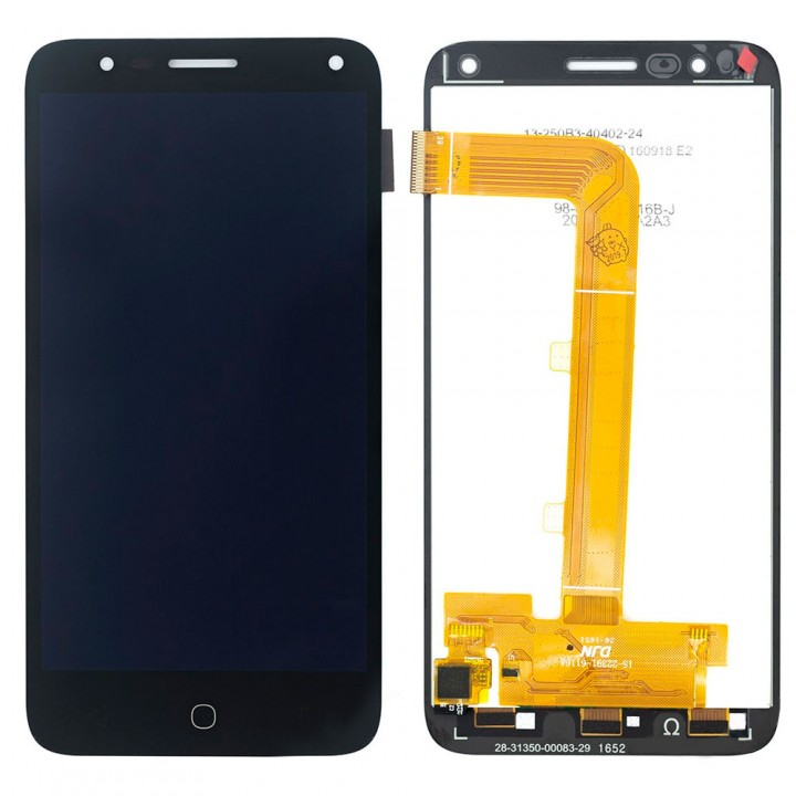 Дисплей Alcatel 5051D Pop 4 Dual Sim с тачскрином (Black)