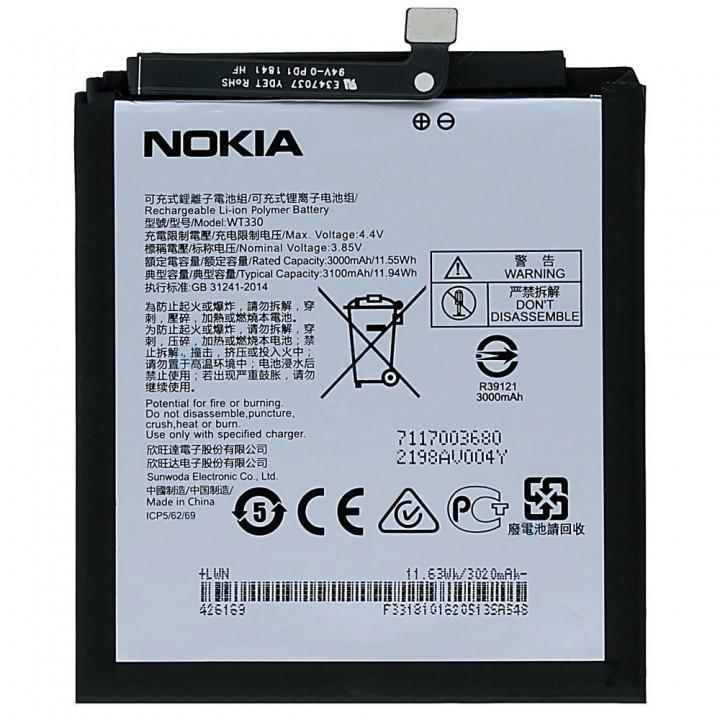 Аккумулятор Nokia WT330 для Nokia 4.2 (3000 mAh)