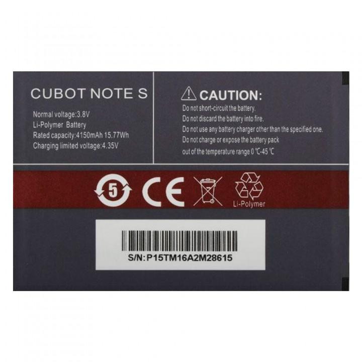 Аккумулятор Cubot Note S (4150 mAh)