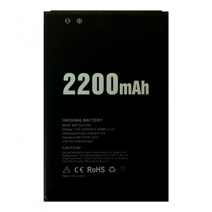 Аккумулятор Doogee BAT18532200 (2200 mAh)