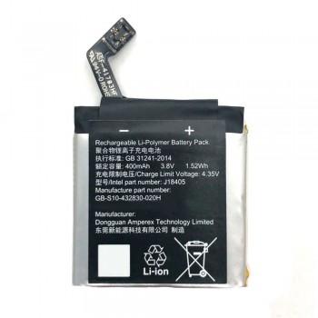 Аккумулятор Sony GB-S10-432830-020H для Sony J18405 Smart Watch (400 mAh)
