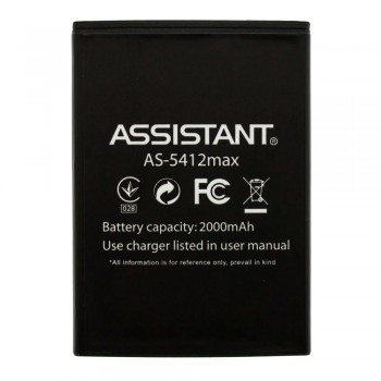 Аккумулятор Assistant AS-5412 max для Assistant AS-5412 Puls (2000 mAh)
