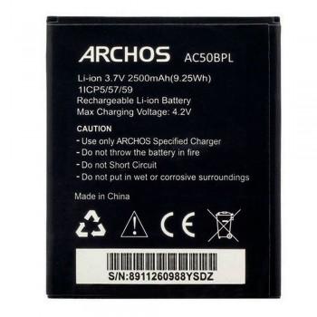 Аккумулятор Archos AC50BPL для Archos 50B Platinum (2500 mAh)