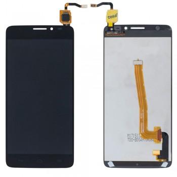 Дисплей Alcatel 6043D One Touch Idol X+ с тачскрином (Black)