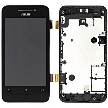 Дисплей Asus ZenFone 4 (A400CXG) с тачскрином (Black) в рамке