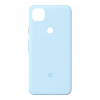 Задняя крышка для Google Pixel 4a (Blue) (Original PRC)