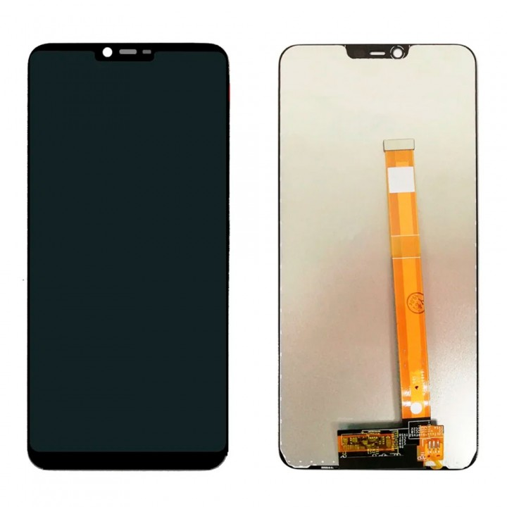 Дисплей Realme 2 / Realme C1 / Oppo A5 / Oppo A3s с тачскрином (Black)