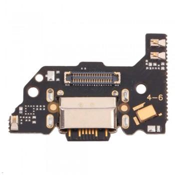 Нижняя плата Xiaomi Mi 11 Lite с разъемом зарядки и микрофоном (High Copy)