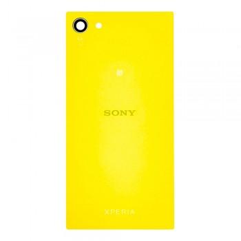 Задняя крышка для Sony E5803 Xperia Z5 Compact Mini (Yellow)