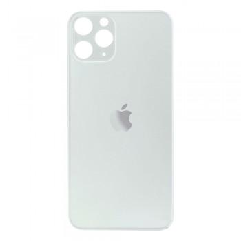 Задняя крышка для iPhone 11 Pro (Silver) (High Copy)