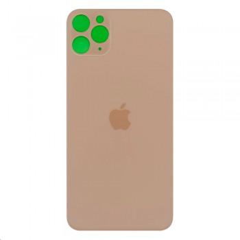 Задняя крышка для iPhone 11 Pro Max (Gold) (High Copy)