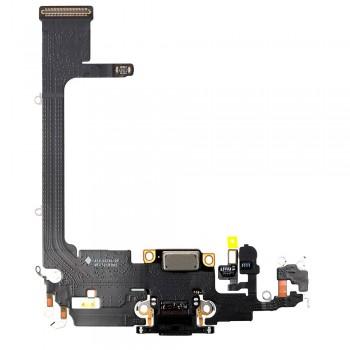 Шлейф iPhone 11 Pro с разъемом зарядки (Space grey) Original