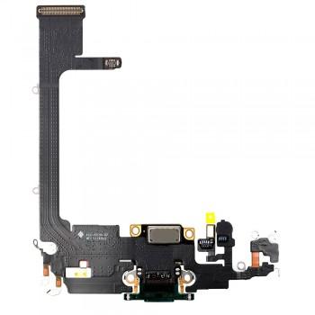 Шлейф iPhone 11 Pro с разъемом зарядки (Midnight green) Original