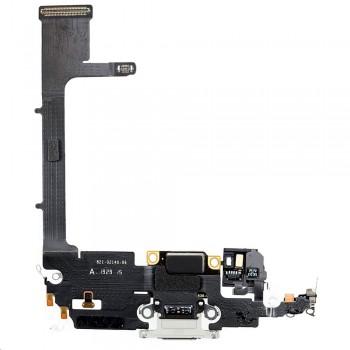 Шлейф iPhone 11 Pro с разъемом зарядки (Silver) Original