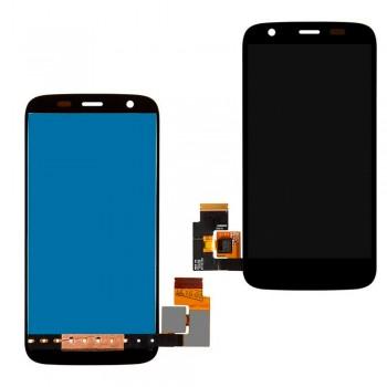 Дисплей Motorola XT1033 Moto G с тачскрином (Black)