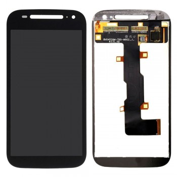 Дисплей Motorola XT1505 Moto E2 с тачскрином (Black)