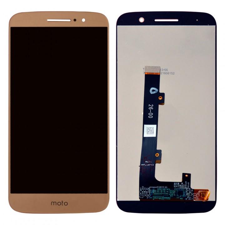 Дисплей Motorola XT1663 Moto M с тачскрином (Gold)
