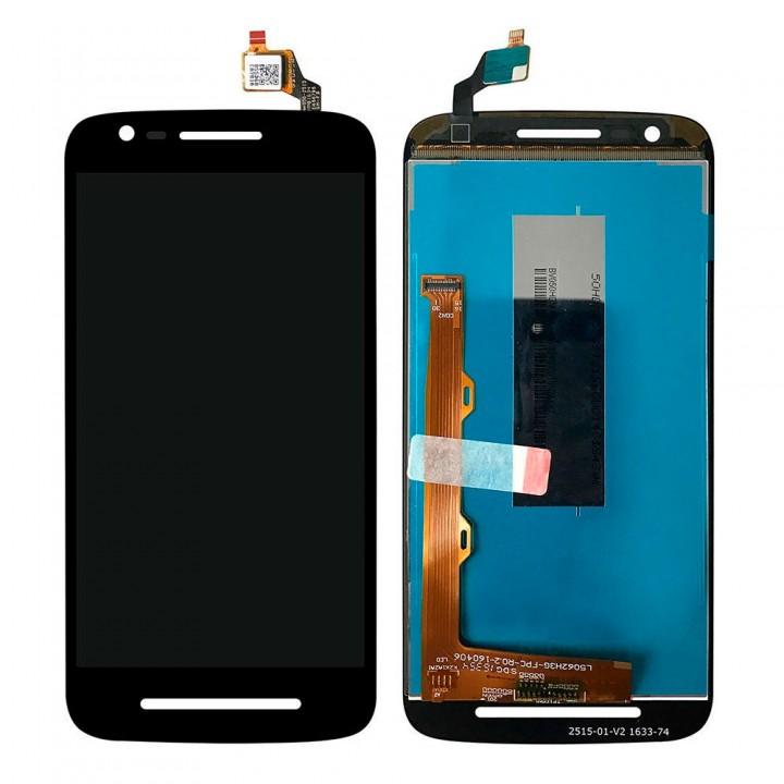 Дисплей Motorola XT1700 Moto E3 с тачскрином (Black)