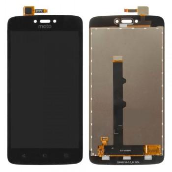 Дисплей Motorola XT1750 Moto C с тачскрином (Black)