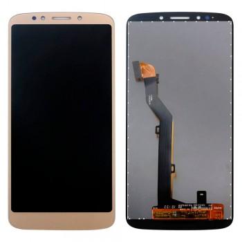 Дисплей Motorola XT1922 Moto G6 Play с тачскрином (Gold)