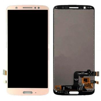 Дисплей Motorola XT1925 Moto G6 с тачскрином (Gold)